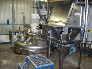 A Stainless Steel Cone Dryer used in Chemical Manufacturing